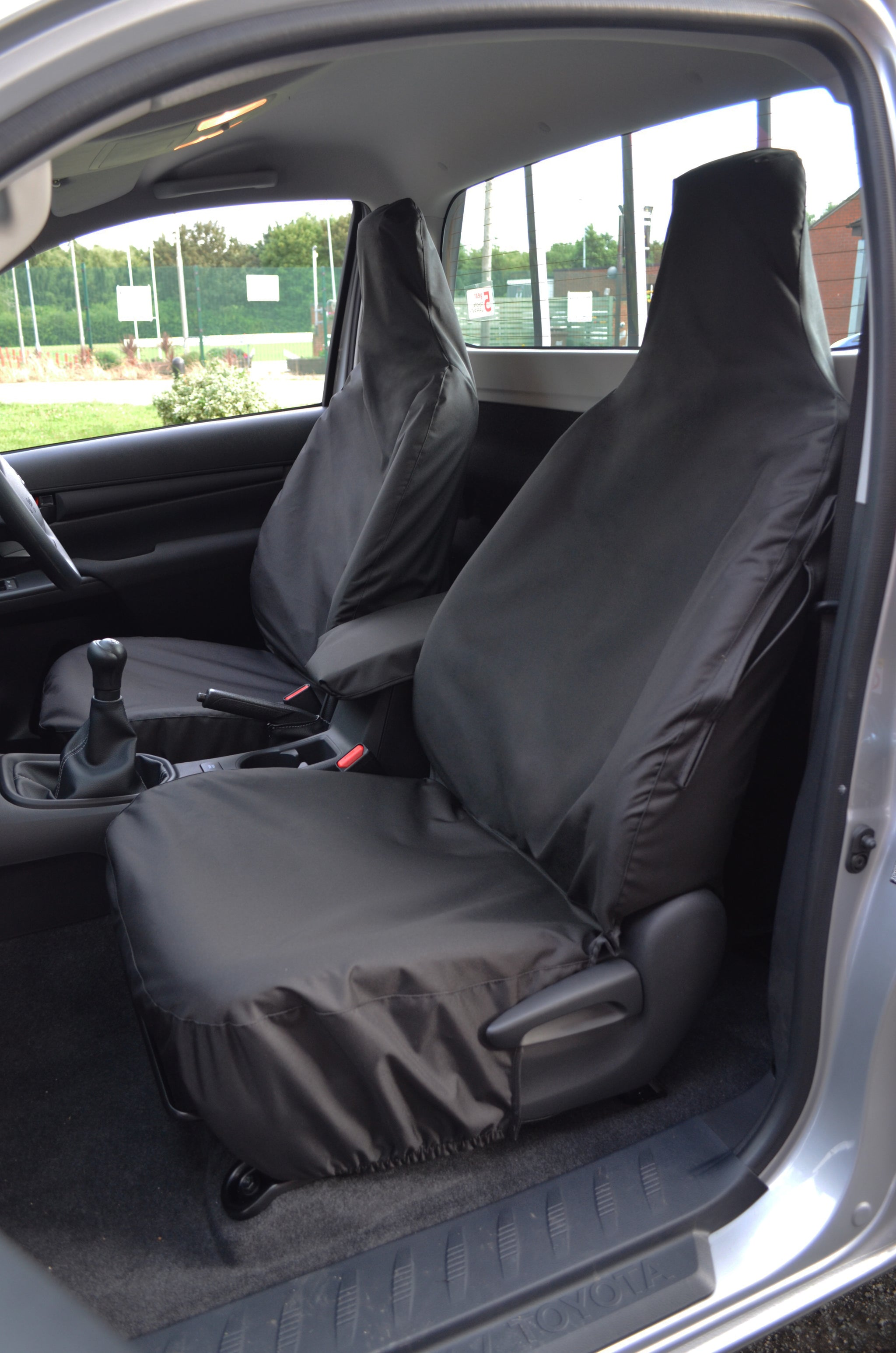 Toyota Hilux Icon Invincible 2016 Custom Fit Waterproof Seat Covers Customised Single Cab Tailored