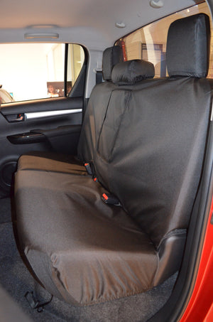 Toyota Hilux Invincible 2016+ Tailored Seat Covers  Turtle Covers Ltd