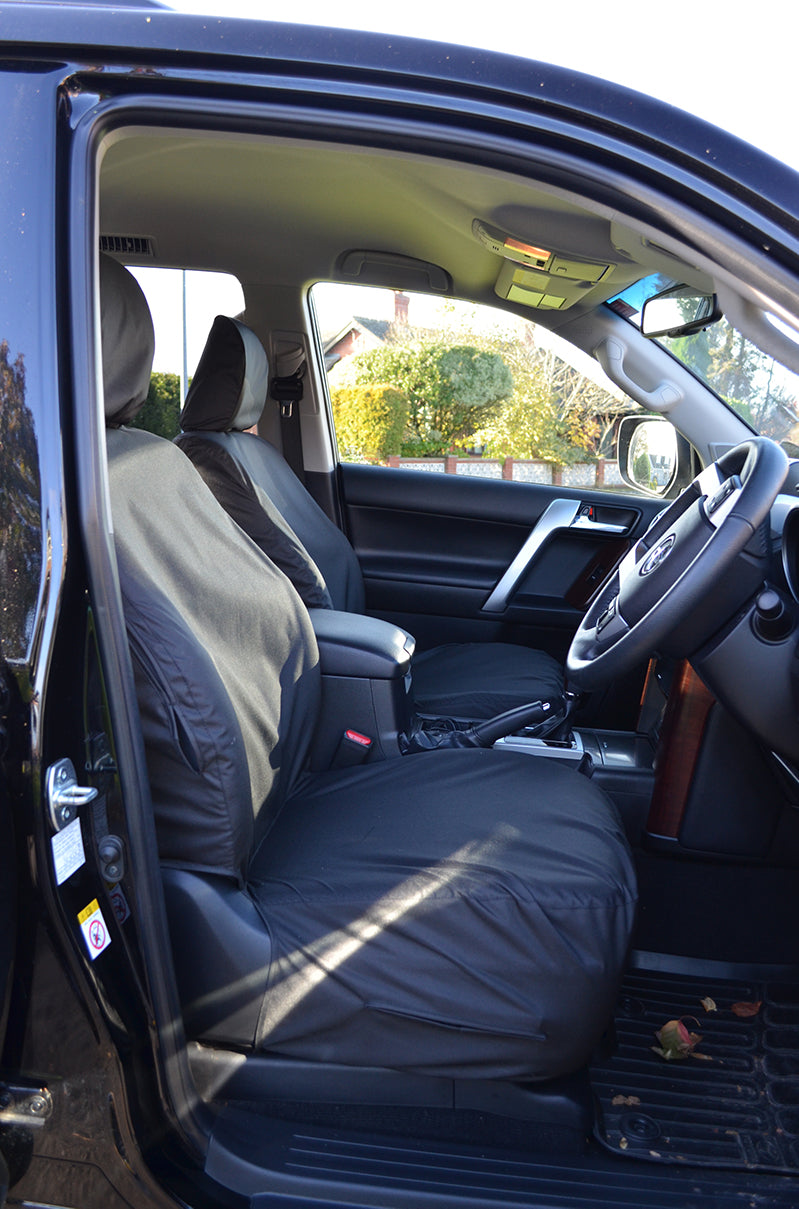 Land Rover Discovery Series 2 Front Pair Beige Tailored /& Waterproof Seat Covers