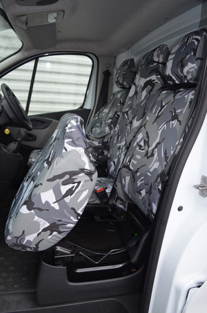 Vauxhall Vivaro 2014 - 2019 Tailored Front Seat Covers
