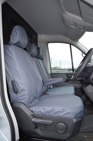 VW Crafter 2017+ Van Tailored & Waterproof Seat Covers  Turtle Covers Ltd