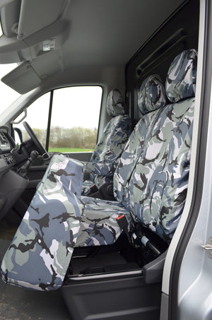 MAN TGE 2017+ Van Tailored & Waterproof Seat Covers  Turtle Covers Ltd