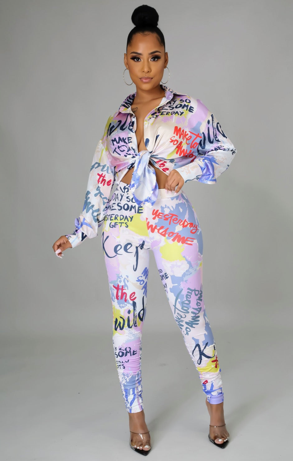 JazZe Pha Two Piece Set