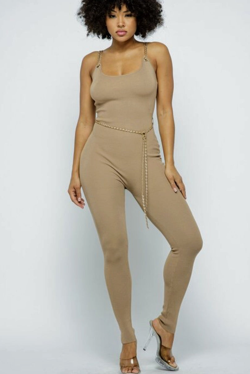 Chain Me Jumpsuit