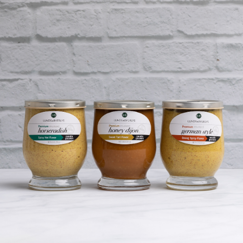 L&B Mustard Trio - Lunds & Byerlys Gifts