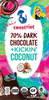 riotBar 70% Kickin' Coconut (12 pack)-BACK IN STOCK