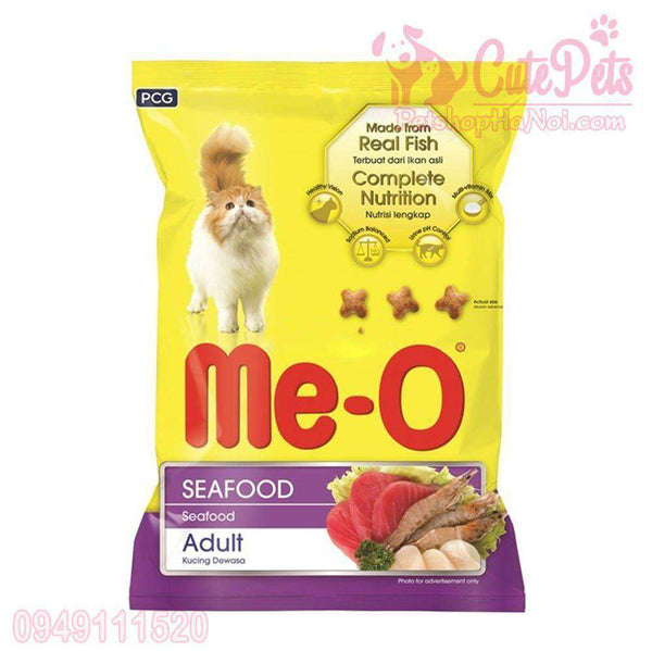 Cat Food Me-O Seafood