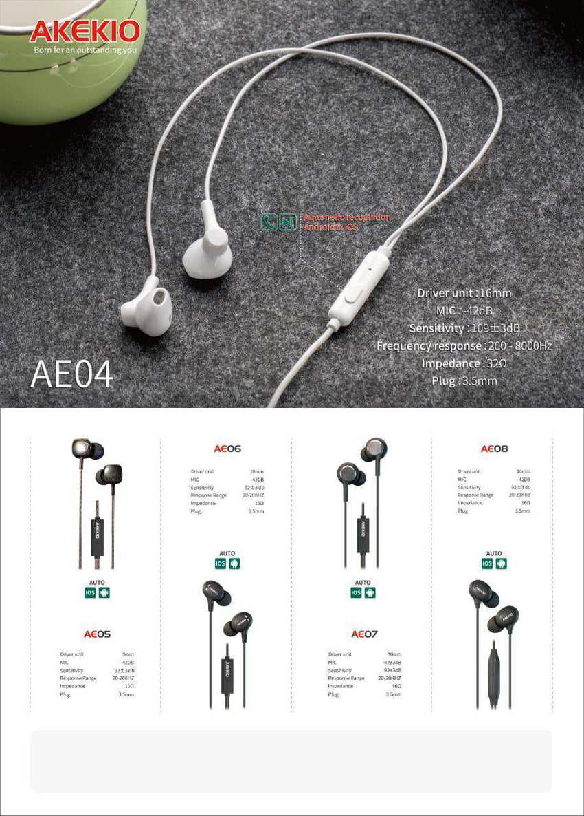 AE04 White Bass Hands-free