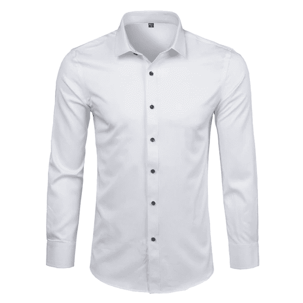 Office Shirt Cotton Off White