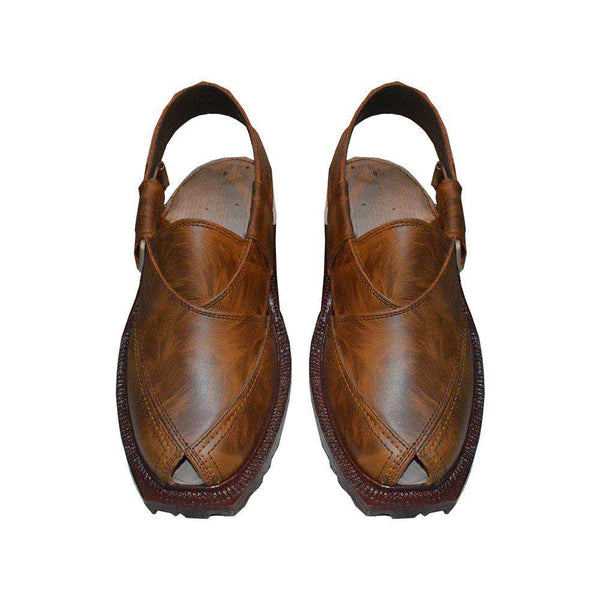Trendy Brown Peshawari Chappal