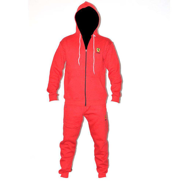 Red Attractive Track Suit
