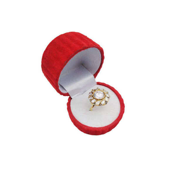 Crystal Stone Gold Ring