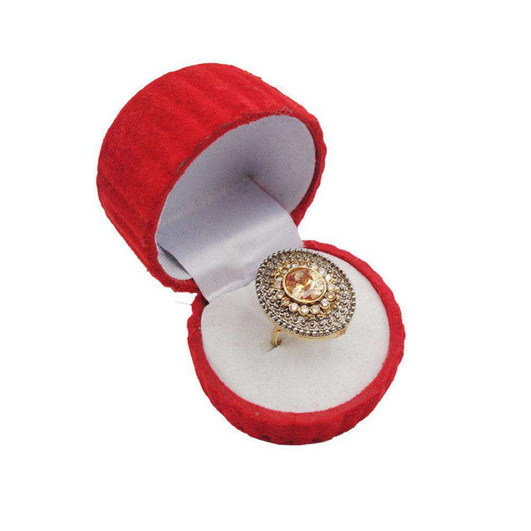 Beautiful Gold Stone Ring