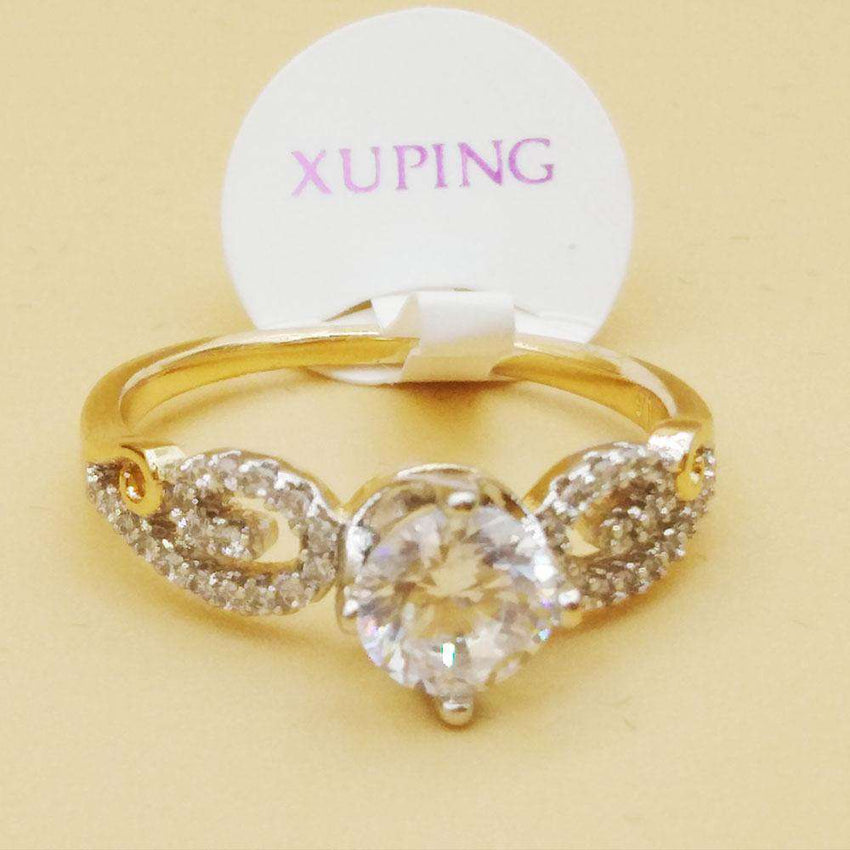 Crystal Stylish Gold Color Ring