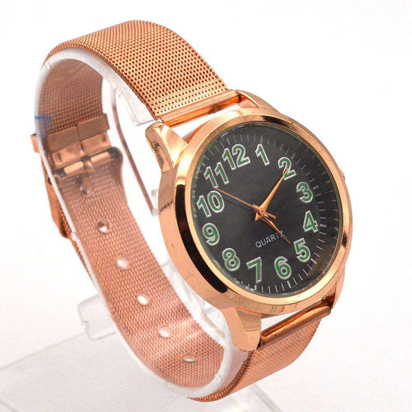 Rose Gold Watch For Girls