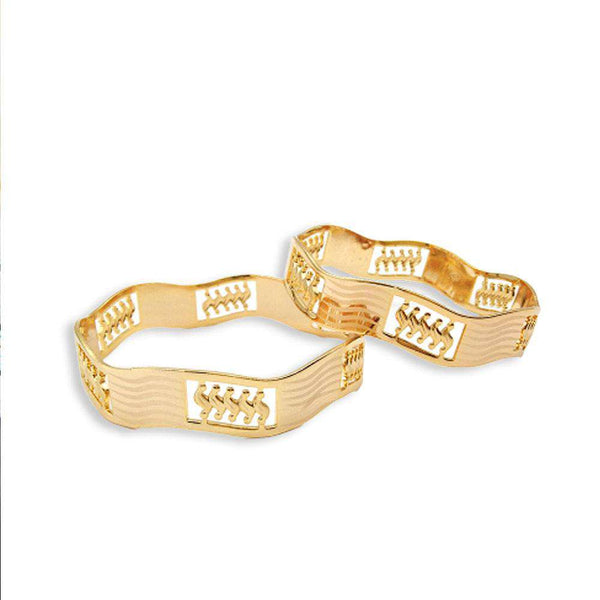 Set of 2 SS Design Bangles For Women