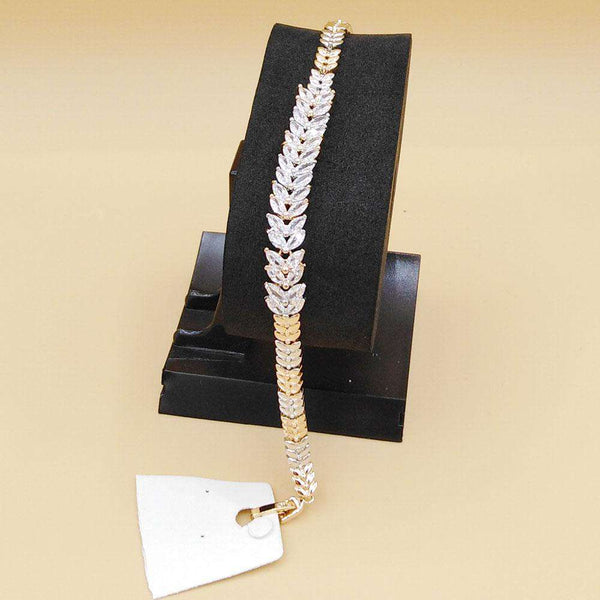 Stylish Silver Bracelet For Girls