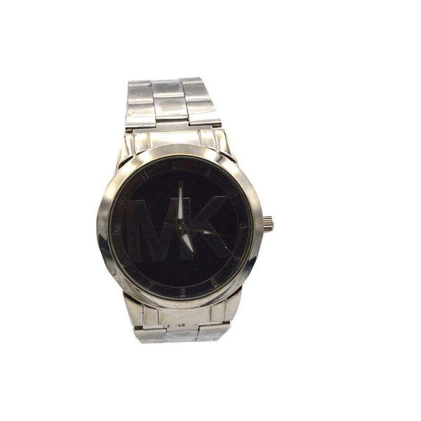 Black Dial MK Watch For Men