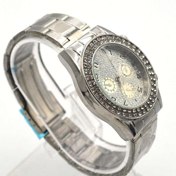Diamond Dial Watch For Girls