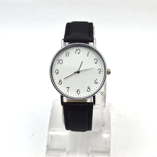 Astonishing Black Strap Watch