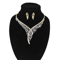 New Look Leaf Design Jewelry Set