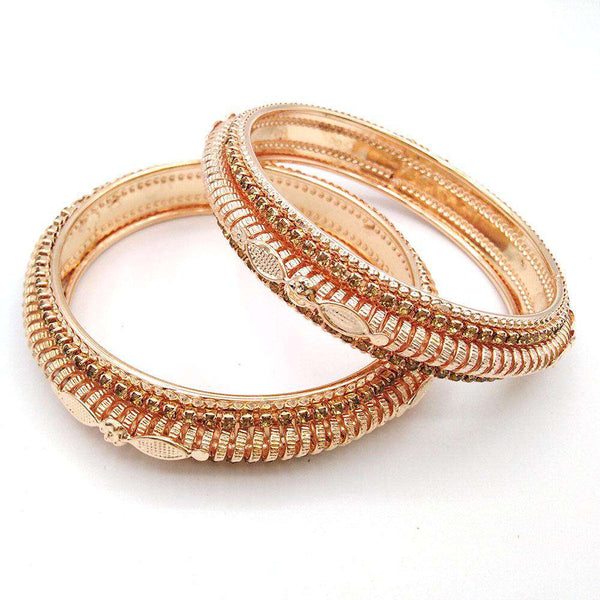 Set of 2 Mix Pattern Bangles