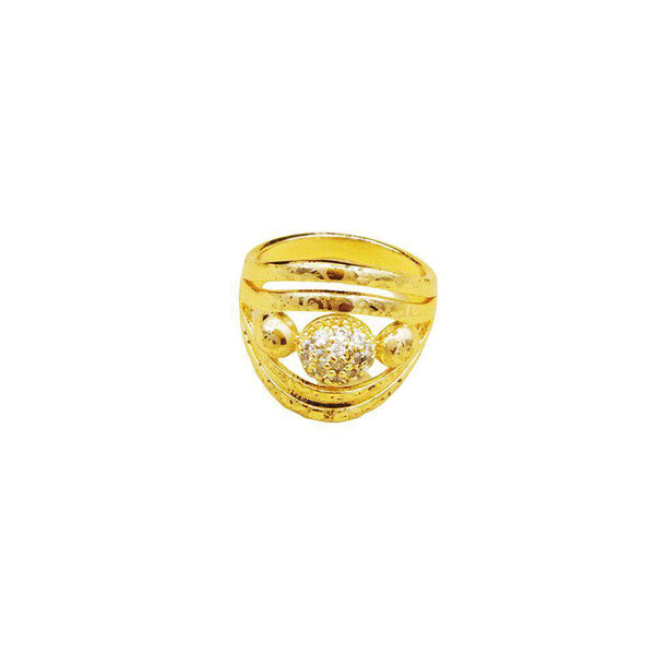 Yellow Zircon Stone Ring
