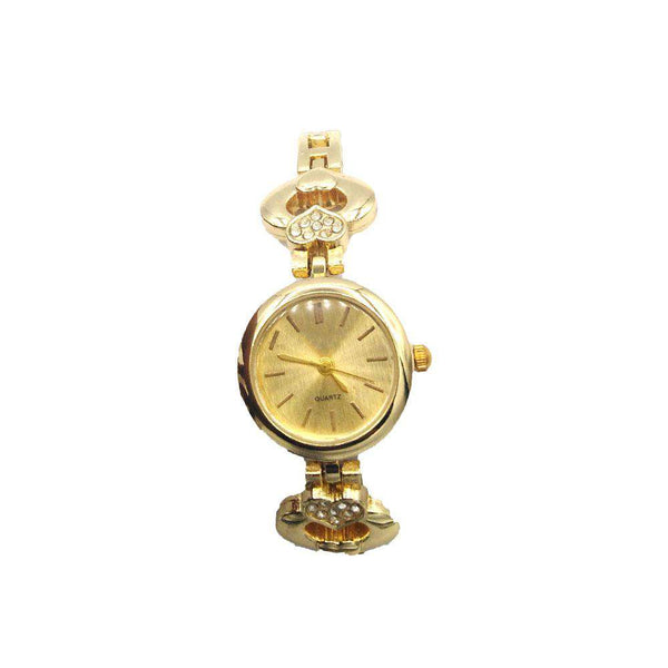 Astonishing Golden Color Watch For Ladies