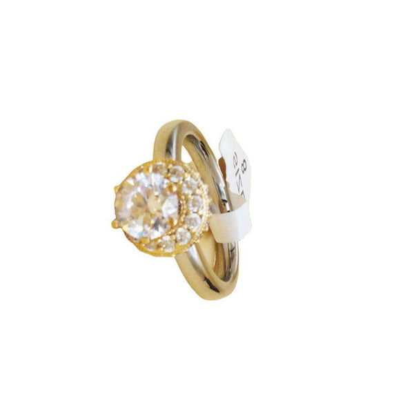 Stylish Gold Color Ring For Girls