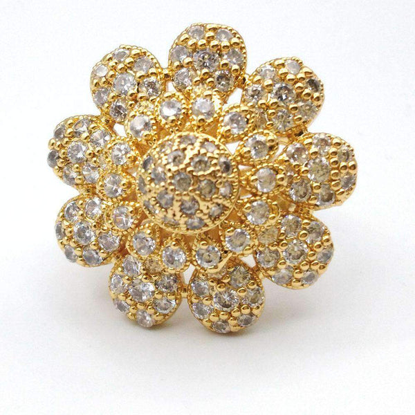 Crystal Star Deign Ring For Women