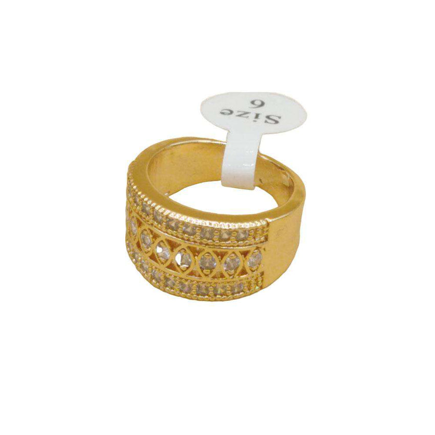New Look Golden Color Ring