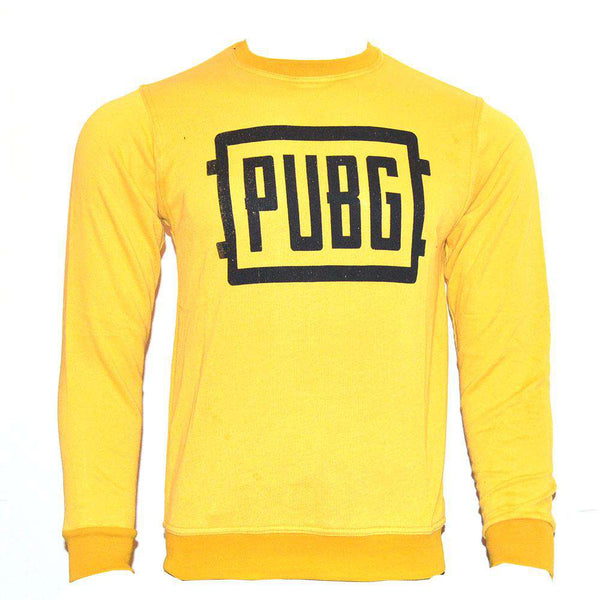 Yellow PUBG Sweat Shirt