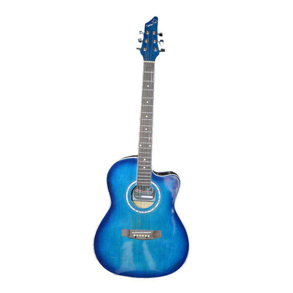 Blue Caustic Guitar
