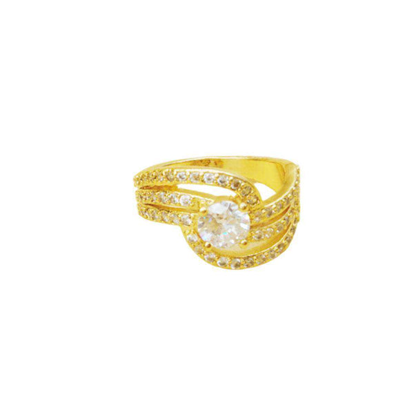 Astonishing Golden Color Ring