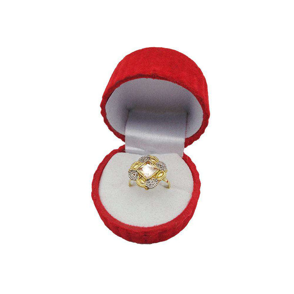Beautiful Diamond Stone Ring For Girls