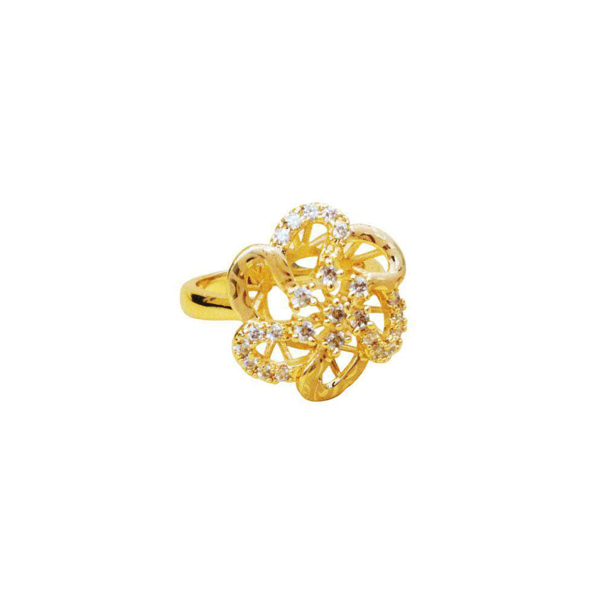 New Blooming Flower Ring