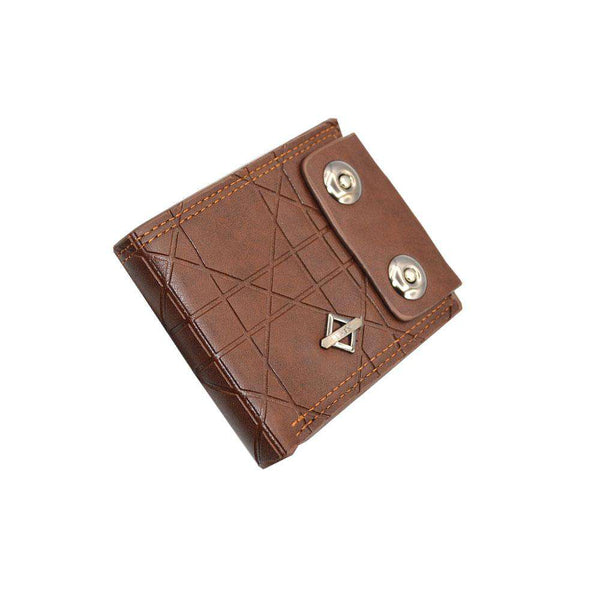 Brown Lining Leather Wallet For Men