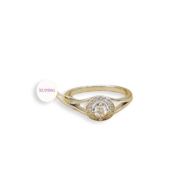 Small White Zircon Ring For Girls