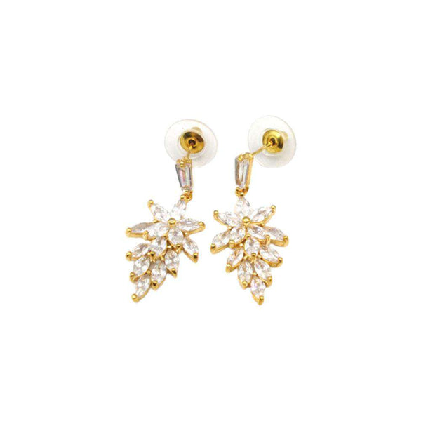 Flower Style Earrings For  Women