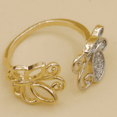 New Butterfly Design Ring