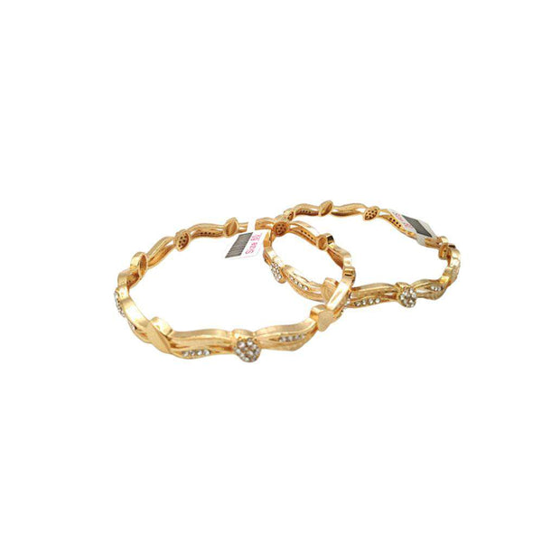 Curvy Style Set of 2 Bangles