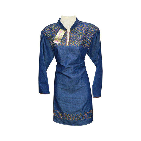 Blue Stylish Ladies Kurti