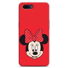 Red Mickey Case For A3S