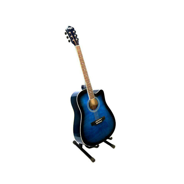 Dark Blue With Stand Guitar