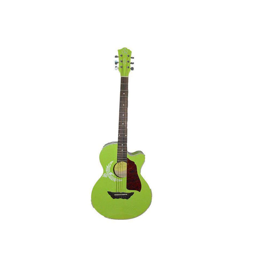 Astonishing Green Guitar