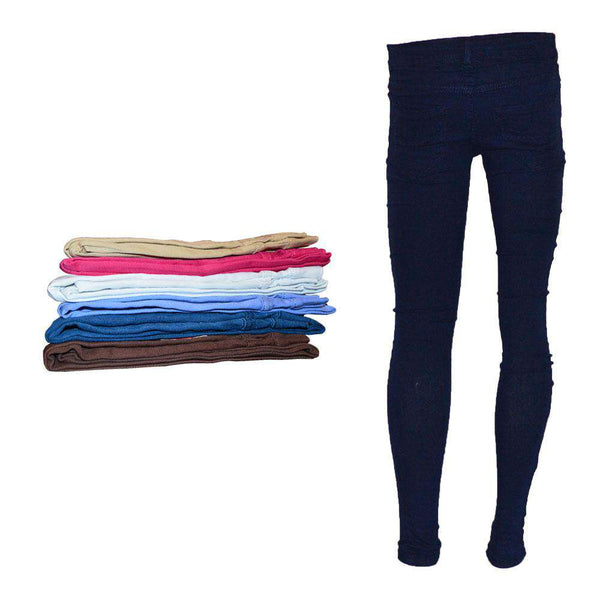 Different Color Women Jeans