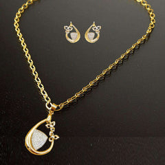 Stylish Golden Color Jewelry Set