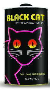 Body Powder Black Cat