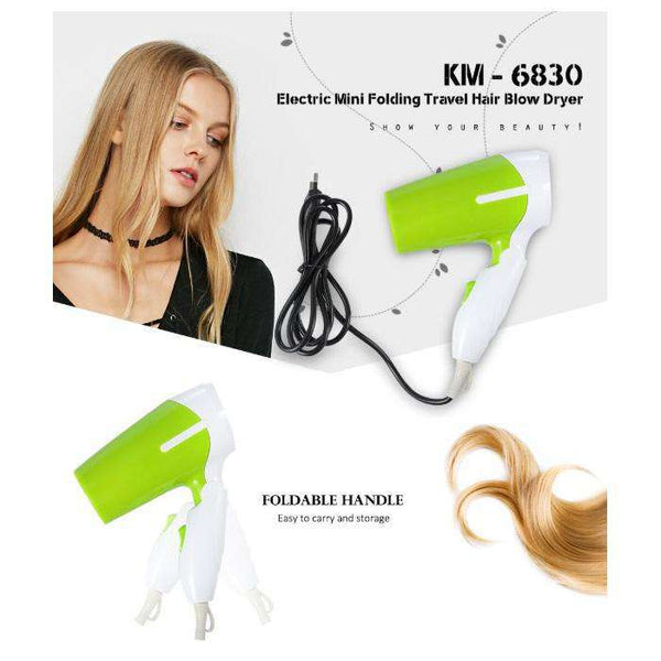 Hair Dryer KM- 6830 (Green)