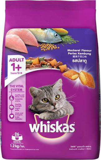 Cat Food Whiskas Mackerel